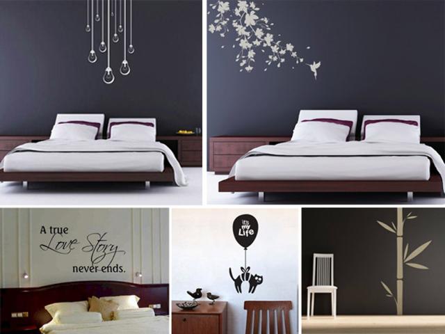 Stunning Disegni Per Pareti Camera Da Letto Contemporary - Design ...